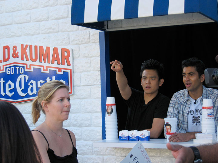 Image result for harold and kumar at white castle